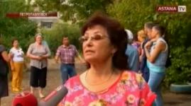 Клиенты Жилстройсбербанка устроили акцию протеста в Петропавловске