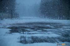 Снег и усиление ветра прогнозируют в Павлодарской области