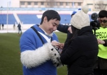 Романтика на футбольном поле