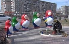 Павлодарскую этноаллею начали приводить в порядок