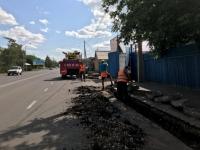 Поврежденные бордюры на некоторых улицах Павлодара меняют на новые