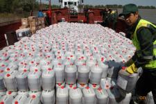 В Иртыш слили 25 тысяч литров бактицида против мошки