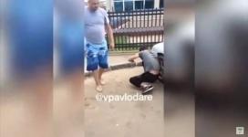 Автовора, едва не попавшего под самосуд, задержали в Павлодаре