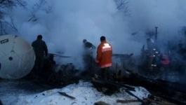 При пожаре в селе Мичурино Павлодарской области погибли двое детей