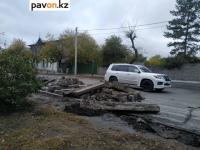 В павлодарском отделе ЖКХ назвали причину затянувшегося ремонта улицы Астана