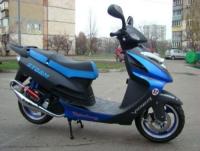Забрали скутер 49см обьемом.