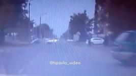 В сети опубликовали запись с видеорегистратора аварии на перекрестке Катаева-Радищева