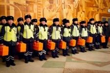 Павлодарским патрульным выдали чемоданы