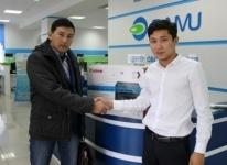 Казахскому обществу глухих Павлодарской области оказана спонсорская помощь