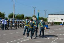 Присягу новобранцев воинской части в Павлодаре показали в прямом эфире Instagram