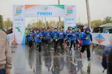 Свыше трёх тысяч человек из трех городов страны одновременно приняли участие в марафоне ERG