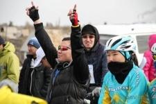 Больше полуторатысяч человекприняли участие в велопробеге в День единства народов Казахстана