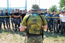 Полицейские области соревновались в стрельбе из страйкбольного оружия