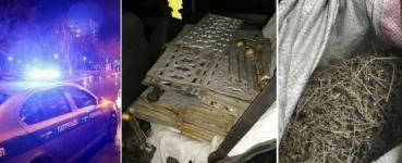 Павлодарские полицейские задержали похитителя кладбищенских оградок