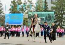 Более 1000 человек участвовало в театральной постановке к 550-летию казахского ханства в Павлодаре