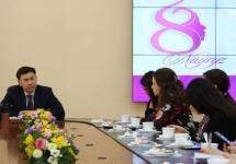 Аким Павлодара встретился с журналистами в преддверии Международного женского дня