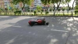 ДТП с участием мотоциклистапроизошло в Павлодаре