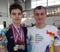 Восемь медалей завоевал павлодарский пловец на соревнованиях в России