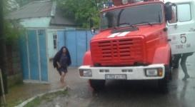 В ЮКО начались потопы из-за ливневых дождей