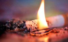 В пригородном селе Жетекши из-за непотушенной сигареты погибли два человека