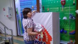 Ящики для сбора школьникамканцтоваров, одежды и обуви установили в двух торговых домах Павлодара