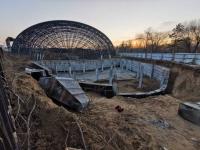 Аким Павлодарской области прокомментировал затянувшееся строительство аквапарка в Павлодаре