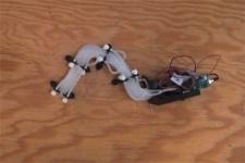 Инженеры разработали пневматического робота-змею