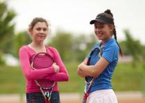 Впервые двукратной победительницей молодежного чемпионата Казахстана по теннису стала павлодарка
