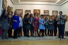 Предновогодняя выставка в художественном музее