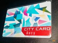 В Аксу на одном автобусном маршруте запустили электронное билетирование