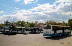 Семь чадящих автобусов убрали с улиц города Павлодара