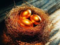 Золотые яйца и пшеница за доллары
