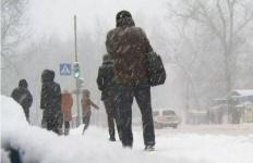 В регионах Казахстана ожидается метель и гололед