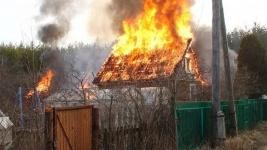 23 пожара на дачах произошло с начала года в Павлодаре