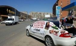 Павлодарский бизнесмен бесплатно раздает Гвардейские ленточки