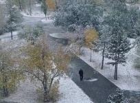 Синоптики прогнозируют снег на ближайшие два дня в Павлодаре