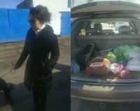 Мария Мудряк в свой день рождения привезла подарки павлодарскому центру помощи бездомным животным