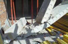 В Экибастузе железобетонной плитой убило рабочего