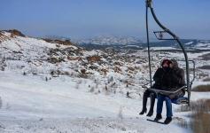 Горнолыжную базу на горе Мырзашокы за сезон посетило около пяти тысяч человек