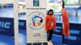 12-летняя павлодарка, перенесшая онкологию, стала победителем спортивных соревнований в Нур-Султане