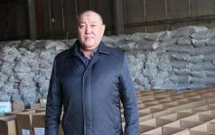 Павлодарский фермер готовит к отправке гуманитарный груз для жителей столицы