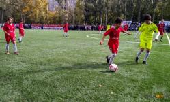 Полноразмерное футбольное поле презентовали в СОШ №22