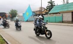 Павлодарцы отправились в авто-мотопробег, посвященный Дню столицы
