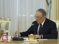 Назарбаев подписал поправки в законодательство по вопросам информации