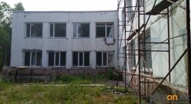 Работы по реконструкции здания бывшей павлодарской школы «Стикс» наполовину выполнены