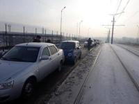 Массовая авария произошла в Павлодаре