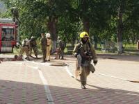 Около сотни человек эвакуировали павлодарские пожарные из театра им. Ж. Аймаутова