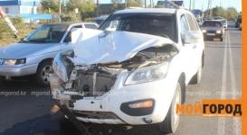 Водитель сбил беременную женщину и устроил массовое ДТП в Уральске