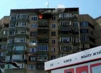 Пожар в квартире десятиэтажки произошел в Павлодаре