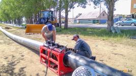 Начался первый этап строительства сетей канализации на Втором Павлодаре